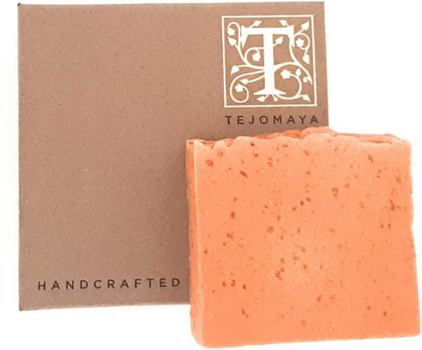 Tejomaya Handmade Natural Ant Acne Orange, Cinnamon soap