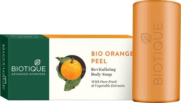 BIOTIQUE BIO ORANGE PEEL Revitalizing Body Soap