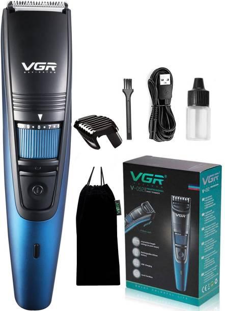 VGR V-052 Hair Clipper  Runtime: 90 min Trimmer for Men
