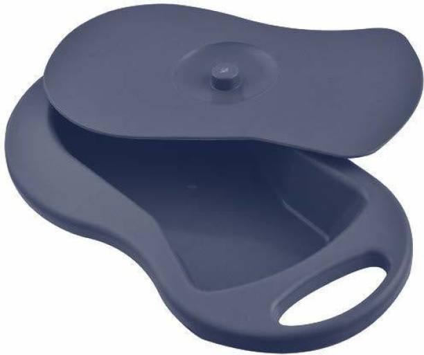 vivan surgical export and import Unisex Adult Bed Pan with Lid Polypropylene Autoclavable Sleek Model Urine Pot