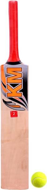 shri shyam traders bat KM 2 with 1 ball Cricket Kit