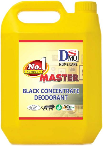 DSMO Black Phenyl 5L Premium Best in Quality, Gives Shine to the floor : Bathroom, Toilet, Offices,etc. Pleasant (5 L) Pleasant Fragrance
