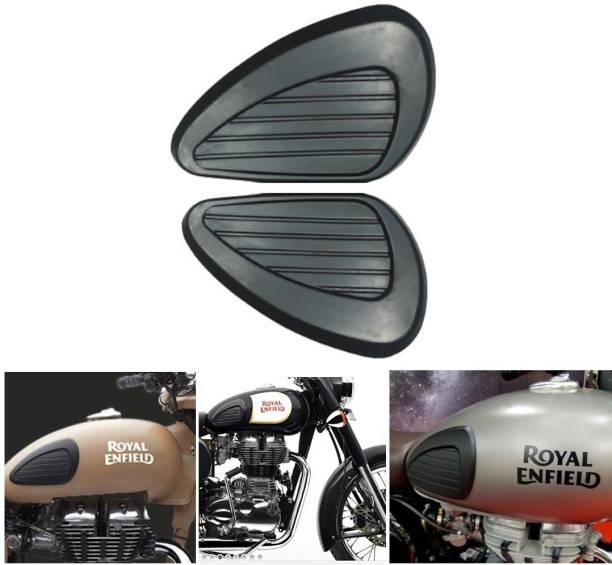 SELVIKE Tank Pad Thai Pad Rubber Knee Grip Protect or Sticker for Thigh pad ROYAL ENFIELD CLASSIC 350 BLACK Bike Tank Pad