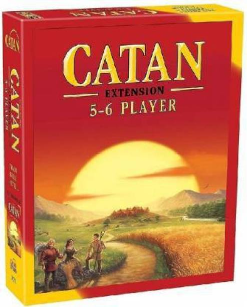 vk's Catan 5-6 Player Extension 5th Edition ,Board Game,Card Game,for Family,Friends,Kids,Children(Multicolor) Board Game Accessories Board Game