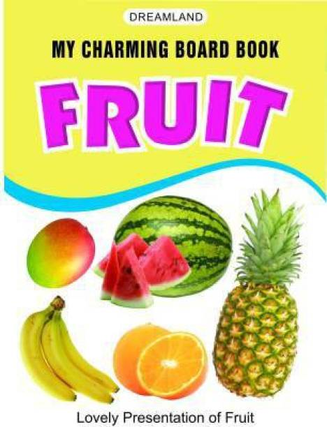 My Charming Board Books - Fruits