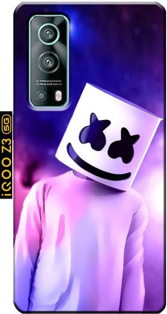 TrenoSio Back Cover for iQOO Z3 5G/iQOO Z3