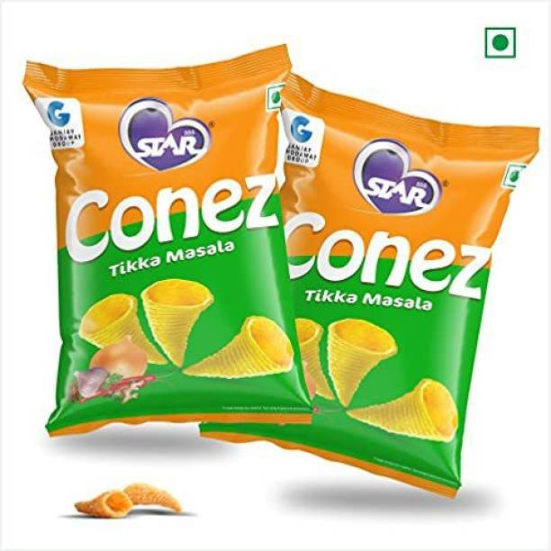 STAR 555 CONEZ Tikka Masala 100GM Each Pack of 2 Chips