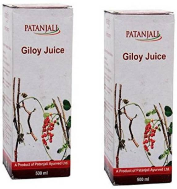 PATANJALI Giloy Juice 500ml - (Pack of 2)