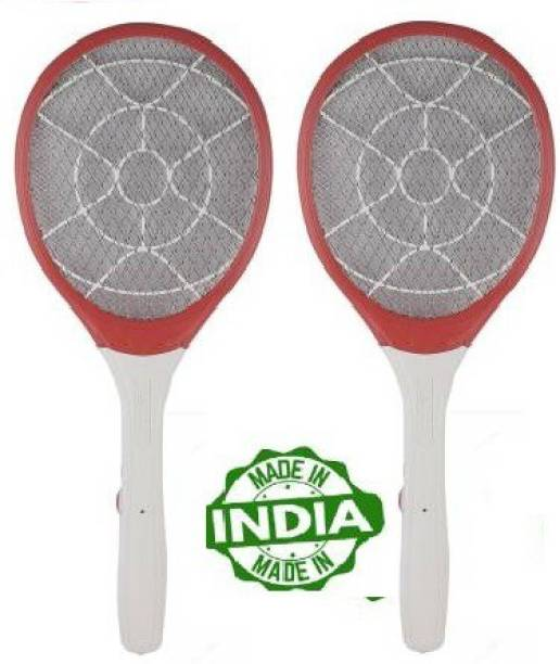 DPM TAK TAK Heavy Duty Mosquito Bat/ Mosquito Racket RECHARGEABLEI MOSQUITO SWATTER NET HIGT CAPACITY BATTERY(2 pcs) Electric Insect Killer
