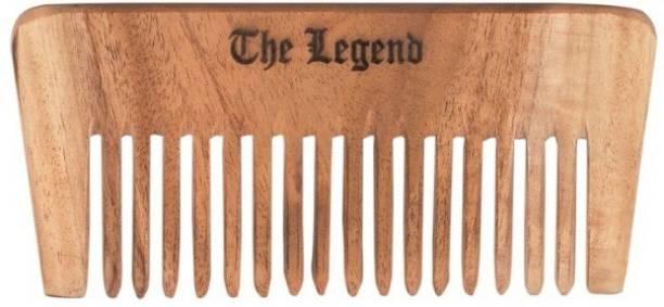 The Legend Pure Neem Wide Teeth Wooden Comb