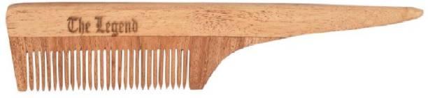 The Legend Long Handled Pure Neem Wooden Comb