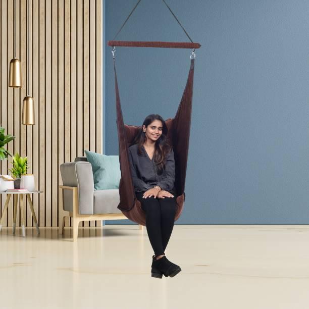 Faburaa Jhula for Adults , Balcony Swing Cotton Hammock