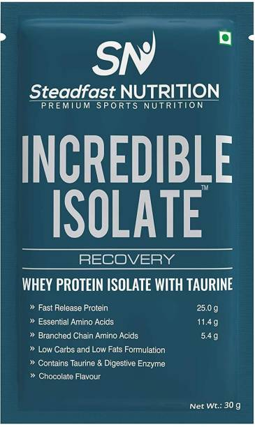 Steadfast Medishield Incredible Isolate Whey Protein