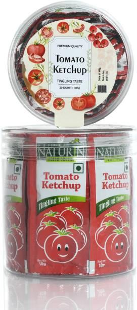 Naturin Tomato Ketchup - 10g (30 Sachet) Ketchup