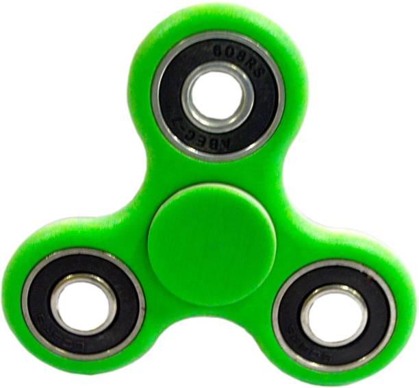 PREMSONS 2 In 1 Hand Spinner 608 Four Bearing Ultra Speed Tri Fidget Spinner