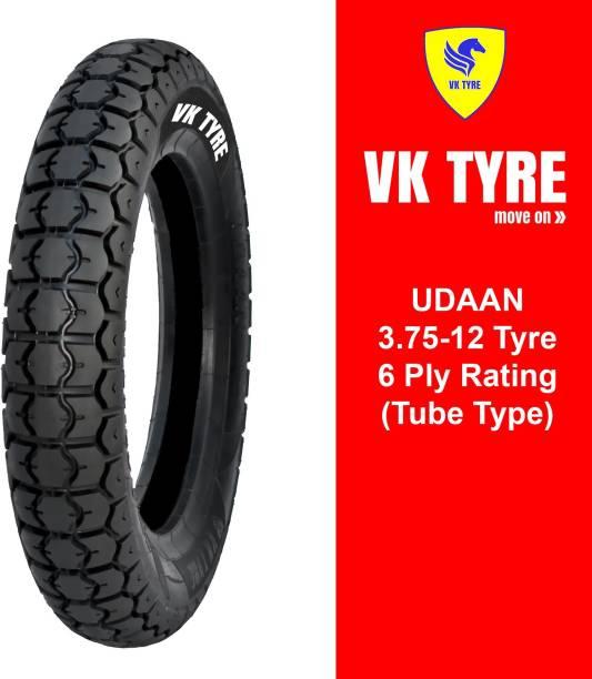 VK TYRE UDAAN 3.75-12 E-RICKSHAW 3 Wheeler Tyre