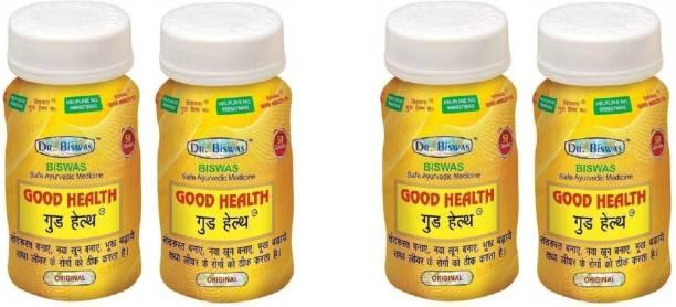 Dr. Biswas Ayurvedic Medicine Good Health 50 Capsules (Pack of 4)