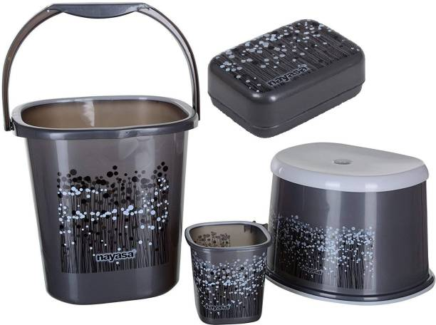 NAYASA GREY25 25 L Plastic Bucket