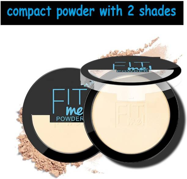 KYRE Absorbs excess oil on the skin and makes makeup last longer 2 shades in compact powder Compact