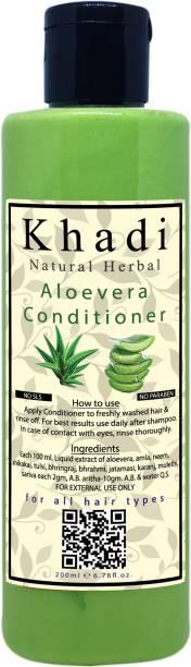 khadi natural herbal Aloevera Conditioner 200ml - Paraben Free