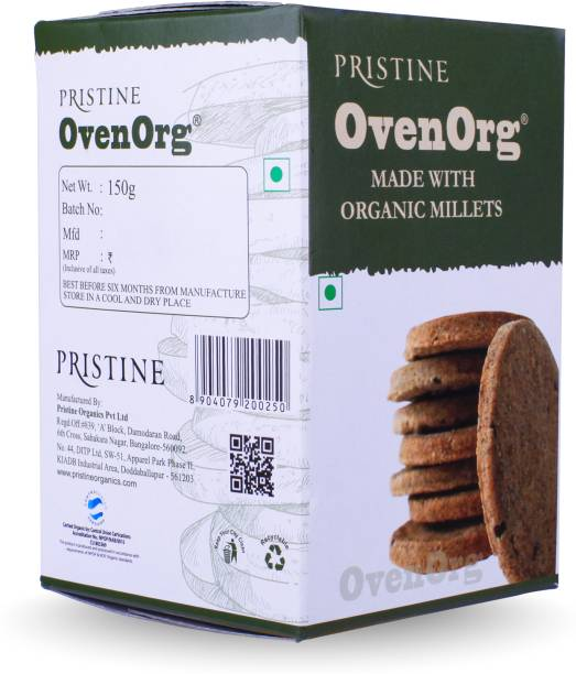 PRISTINE Fields of Gold Organic Mixed Millet Biscuits Multi Grain