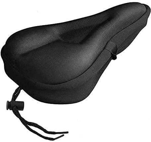 AlexVyan Comfortable Bicycle Silicone Gel Seat Saddle Cove Cushion Soft Gel Silicone Pad Bicycle Seat Cover Free Size