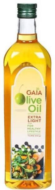 GAIA Extra Light Olive Oil 1ltr Olive Oil Tin