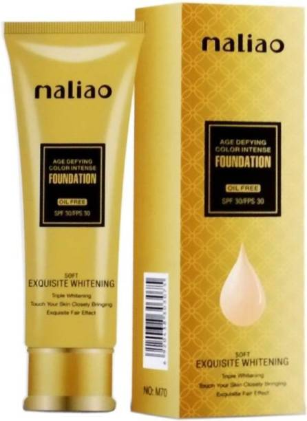 maliao Exquisite Whitening Liquid Oil Free Foundation