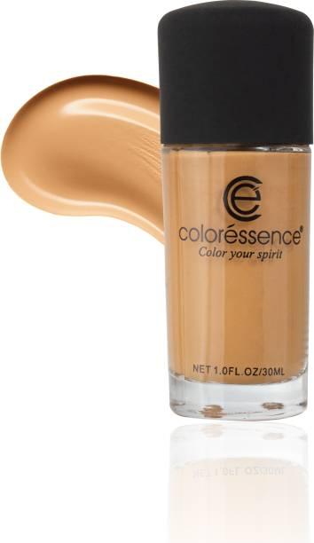 COLORESSENCE SPF-20 Liquid Foundation Deep Coverage Lightweight Face Makeup Formula Foundation