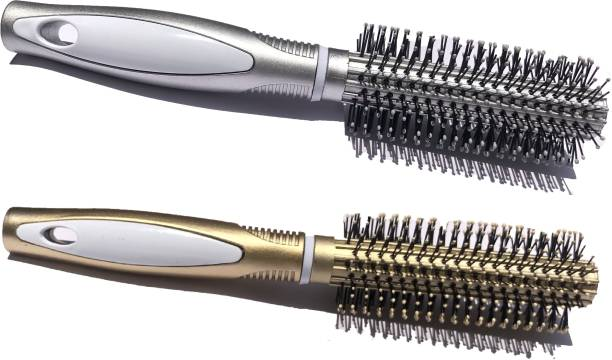 Alkaf Hair Styling Roller Comb round New Pack Of 2
