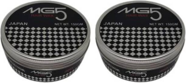 SRCJ SRCJMG5 MEN HAIR GEL 150gm ( HAIR WAX ) PACK OF 2 Hair Gel