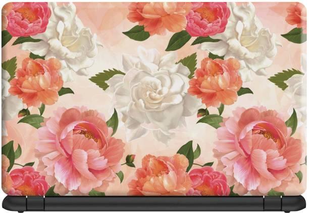 Make Unique Floral Rose Art Image Design Wallpaper Laptop Skin LSD786 Vinyl Laptop Decal 15.6
