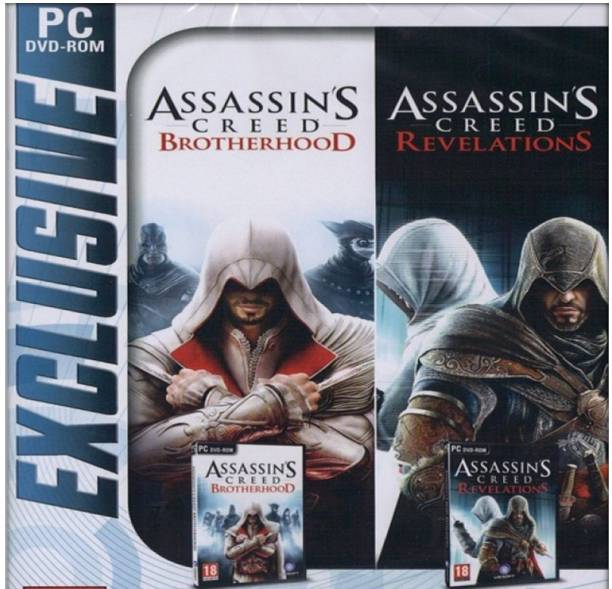 Assassins Creed Brotherhood and Revelations Top Two Game Combo (Offline Only) (Regular)