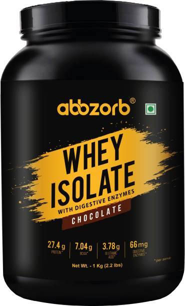 Abbzorb Nutrition Abbzorb Whey Isolate Chocolate Whey Protein