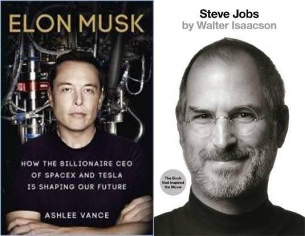 Elon Musk + Steve Jobs (Combo Of 2 Books)