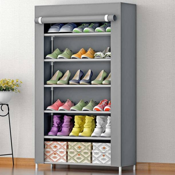 Philoshop Metal Collapsible Shoe Stand