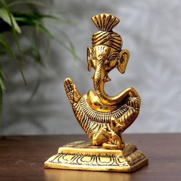 Flipkart SmartBuy Handcrafted Blessing Lord Ganesha with Base Decorative Showpiece  -  15 cm