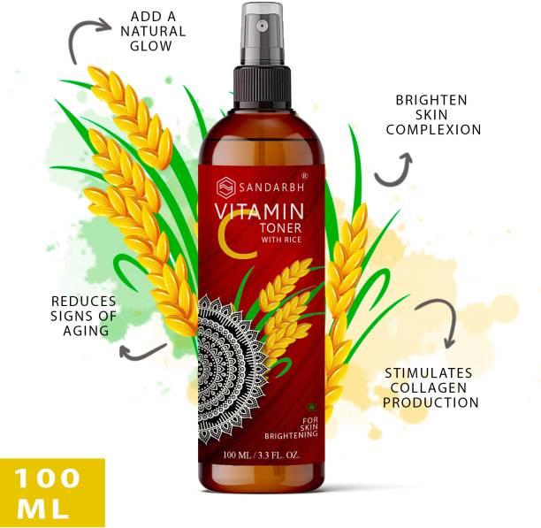 Sandarbh Skin Hydrating Orange Toner Nourishing, Brightening Oil Control, Natural Glow Enriched with Pure Essential Oil of Orange for Dry Skin Men & Women Men & Women