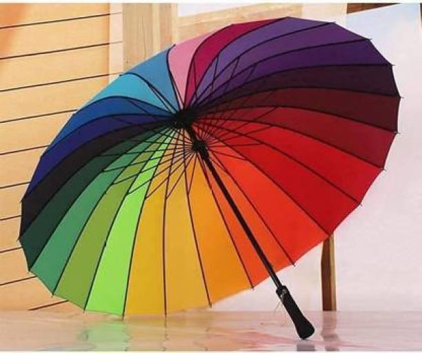 Kanku Umbrella Multi-Color Rainbow Umbrella