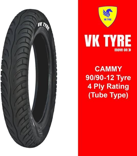 VK TYRE CAMMY 90/90-12 E-RICKSHAW 3 Wheeler Tyre