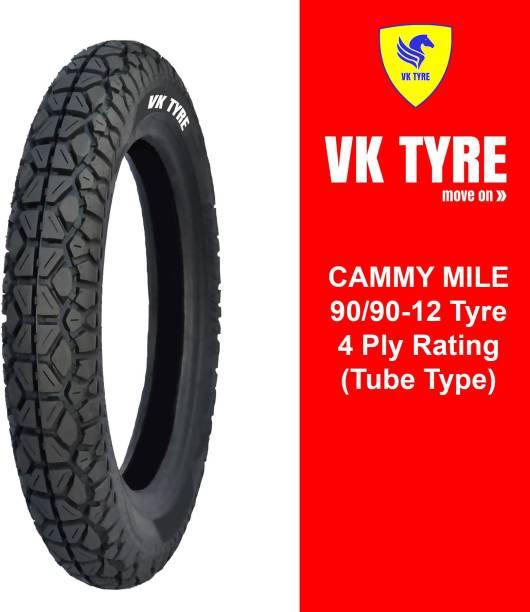 VK TYRE CAMMY MILE 90/90-12 E RICKSHAW 3 Wheeler Tyre