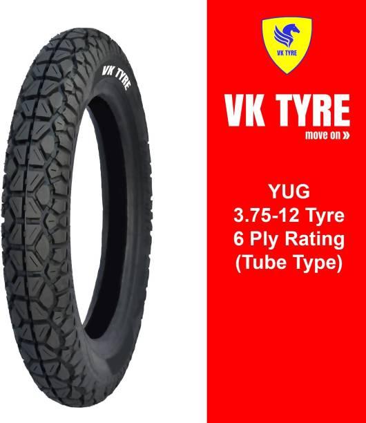 VK TYRE YUG 3.75-12 E-RICKSHAW 3 Wheeler Tyre