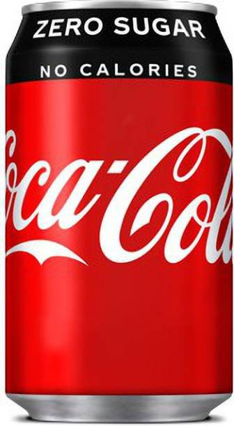 Coca Cola ZERO SUGAR NO. CALORIES (4 X 330 ML) Can