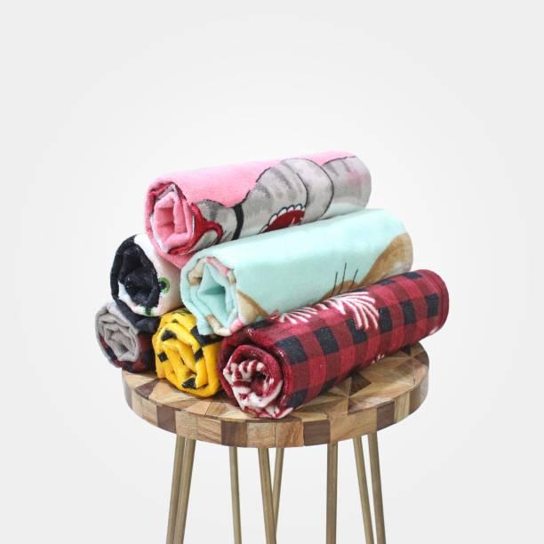 UpLoom Cotton 400 GSM Hand, Face Towel Set