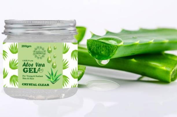Nirmaya Organics 100% Pure Aloe Vera Gel for Hair And Face 200gm