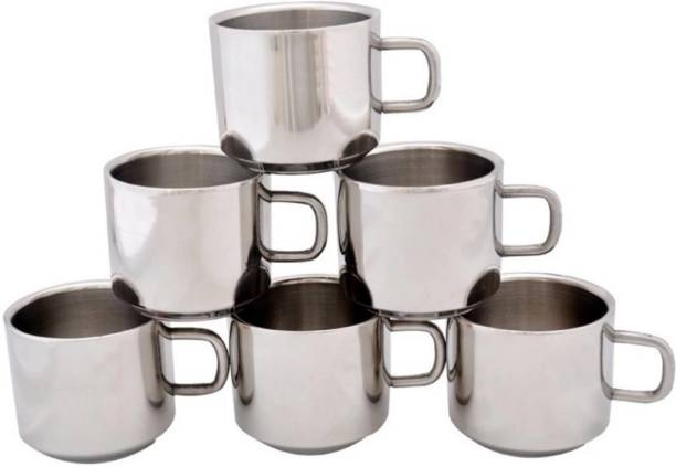 Sepla Pack of 6 Stainless Steel SPSTC016