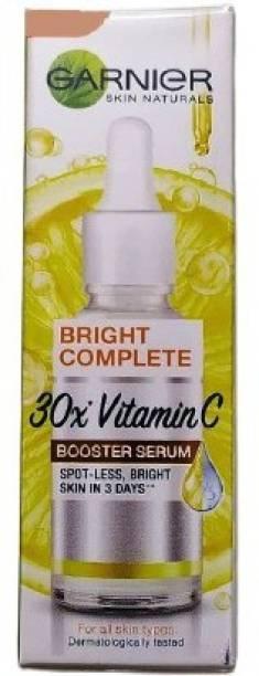 GARNIER Light Complete Vitamin C Booster Serum 15 ml - 3 Days to Spotless, Bright Skin   Light Texture Formula & Non-Oily Face Serum