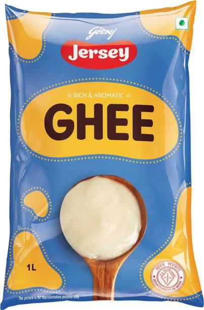 Godrej Jersey Buffalo Ghee 1 L Pouch