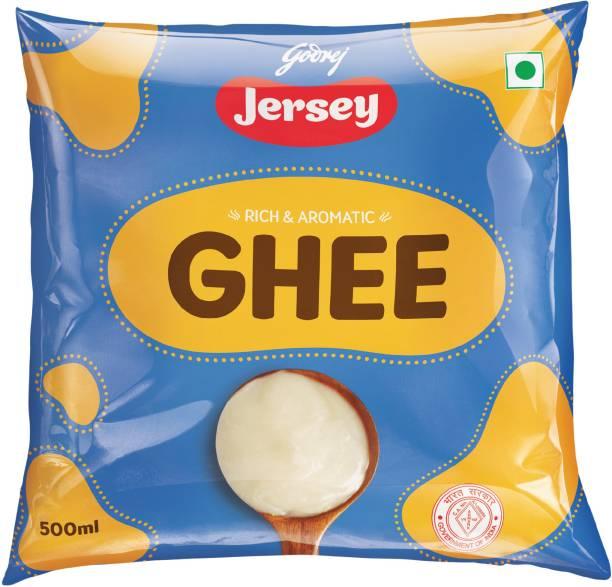 Godrej Jersey Buffalo Ghee 500 ml Pouch