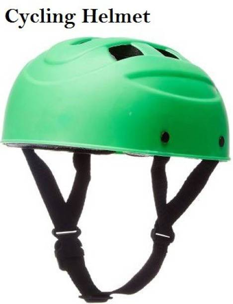 Benstar Multipurpose Sports Helmet For Skating, Cycling Adjustable Straps Helmet, (Green) Cycling Helmet